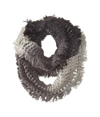 Steve Madden Made In The Shade Infinity Black Scarves