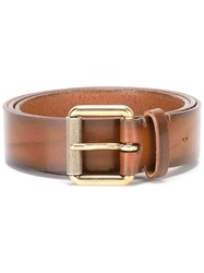 Ralph Lauren Buckled Belt Brown