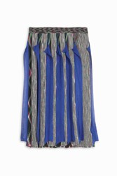 Missoni Women S Ruffle Pleated Skirt Boutique1 Blue