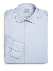 Ike Behar Kinley Cotton Dress Shirt Bluejay