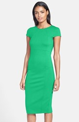 Petite Women's Felicity And Coco Seamed Pencil Dress Kelly Green