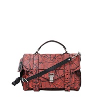 Proenza Schouler Ps1 Medium Scribble Print On Lambskin Lux