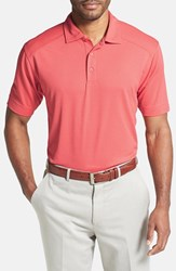 Men's Cutter And Buck 'Genre' Drytec Moisture Wicking Polo Coho Pink