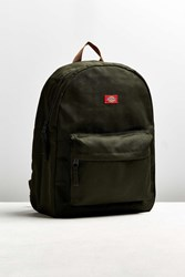 Dickies X Uo Cotton Twill Backpack Dark Green