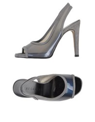 Rebeca Sanver Sandals Grey
