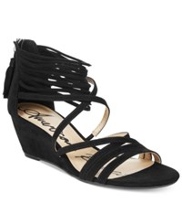 American Rag Mirah Demi Wedge Sandals Only At Macy's Women's Shoes Black