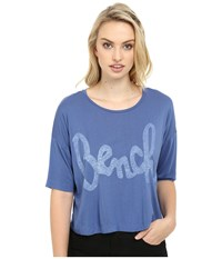 Bench Speechifying Relaxed Tee Shirt Dutch Blue Women's T Shirt