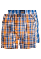 Tom Tailor 2Pack Boxer Shorts Blue Orange