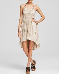 Free People Dress Printed Fauna Tea Combo