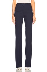 Thierry Mugler Mugler Tailored Twill Trousers In Blue