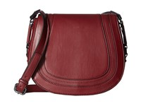 French Connection Liza Large Crossbody Berry Red Cross Body Handbags