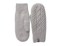 The North Face Cable Knit Mitt Metallic Silver Extreme Cold Weather Gloves