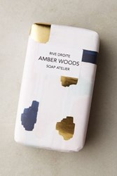 Anthropologie Artist Atelier Bar Soap Amber Woods