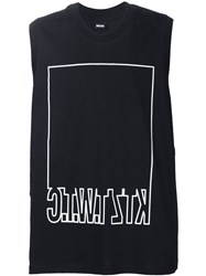 Ktz 'Twtc' Mirror Writing Vest Black
