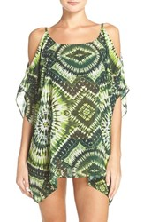 Robin Piccone Women's Cold Shoulder Cover Up Caftan