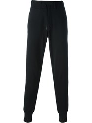 Y 3 Cuffed Sweatpants Black