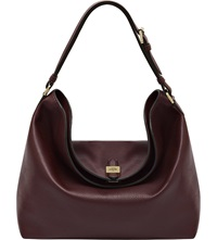 Mulberry Tessie Hobo Bag Oxblood