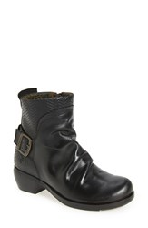 Fly London Women's 'Melb' Slouchy Buckle Strap Bootie