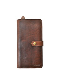 Rawlings Sports Accessories Leather Travel Wallet Bourbon