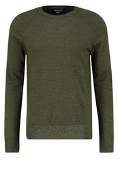 Banana Republic Jumper Snooker Khaki Mottled Green