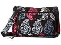 Vera Bradley Little Hipster Northern Lights Cross Body Handbags White
