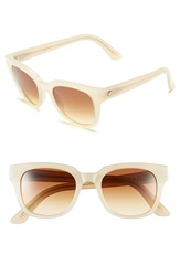 Electric Eyewear '40Five' 50Mm Retro Sunglasses Nude Bronze Gradient