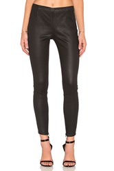 Pam And Gela Coated Sateen Legging Black