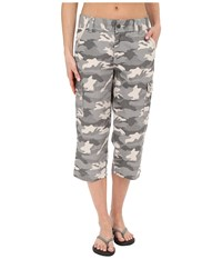 Carhartt Relaxed Fit El Paso Cropped Pants Camo Gray Women's Casual Pants Multi