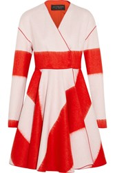 Giambattista Valli Flared Wool Blend Coat