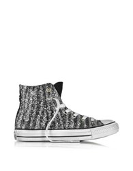 Converse All Star High Animal Glitter Ltd Women's Sneaker Silver