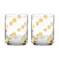 Kate Spade Pearl Place Dof Tumblers Set Of 2