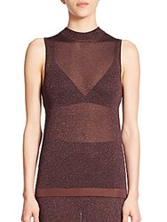 Rag And Bone Marie Sleeveless Top Nightshade