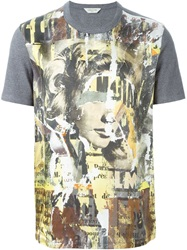 Cerruti 1881 Paris Front Print T Shirt Black