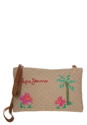 Pepe Jeans Bahia Across Body Bag Natural Beige