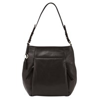 Mint Velvet Libby Leather Tote Bag Black