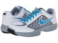 Nike Air Cage Court White Dove Grey Blue Force Blue Lagoon Men's Tennis Shoes