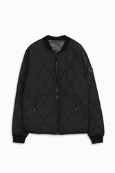 Kenzo Men S Nylon Quilted Bomber Boutique1 Black