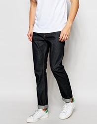 Reiss Raw Jeans In Slim Fit Blue