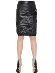Maison Martin Margiela Maison Margiela Quilted Nappa Leather Skirt With Chain