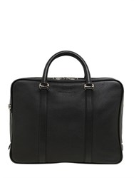 Bally Moret Textured Leather Briefcase