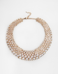 Love Rocks Wowzer Rhinestone Collar Necklace