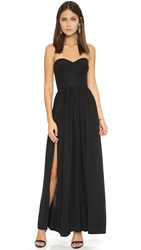 Amanda Uprichard Gisele Gown Black