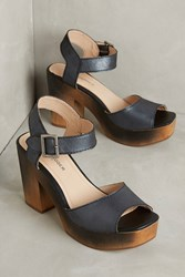 Anthropologie Kelsi Dagger Brooklyn Front Platforms Black