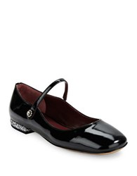 Marc By Marc Jacobs Patent Leather Mary Janes Black