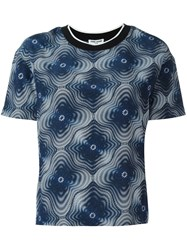 Opening Ceremony Printed T Shirt Blue
