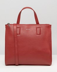 Matt And Nat Shopper Bag Bordeaux Red