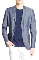 Men's Howe 'Hammer' Regular Fit Jacquard Blazer