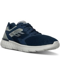 Skechers Men's Gorun 400 Running Sneakers From Finish Line Navy Gray