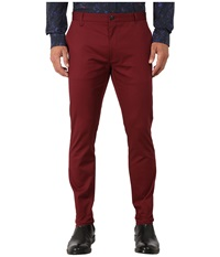 Hugo Heldor1 10166740 01 Dark Red Men's Dress Pants