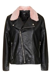 Ride To Me Pu Leather Jacket By Goldie Pink